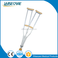 Lightweight Aluminum medical crutch price for elderly