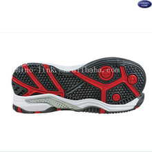 rubber or eva tennis sports shoe sole manufacturers outsole shoe material