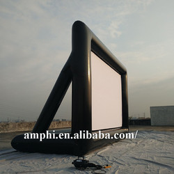 indoor inflatable tv screen/movie screen