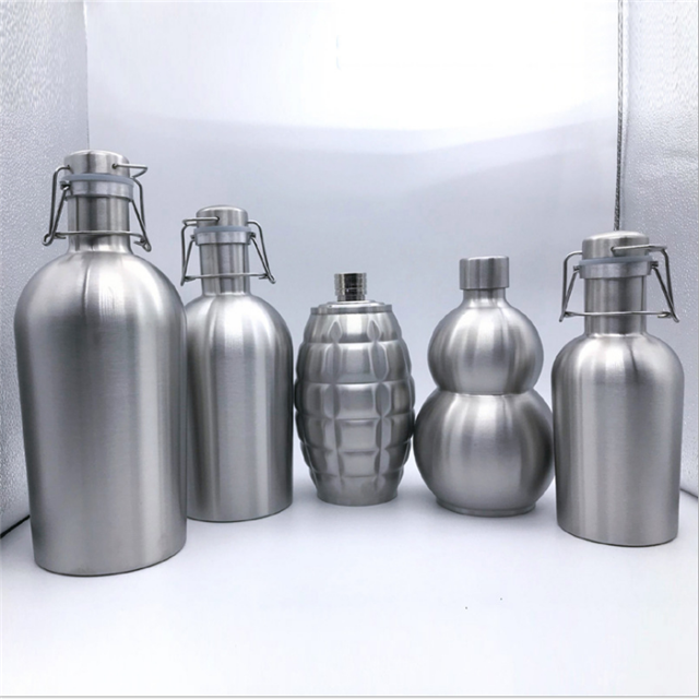 BPA Free Single Wall Stainless Steel Beer Wine Glower