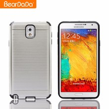 Best Praise wire drawing case cover for samsung galaxy note 3