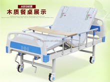 Manufacturers supply ABS single swing double swing multifunctional medical sickbed paralysis medical home medical care bed