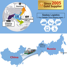 Professional sea freight forwarder shipping agent company to Novorossiysk