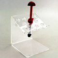 Plexiglass Syringe Display Rack Acrylic Dental Composite Resin Syringe Organizer Acrylic Syringe Holder