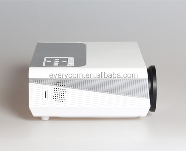 New Arrival Home Theater XGA 1280*800 2000lumens HD Video USB HDMI TV 1080P LCD Video LED Projector 3D