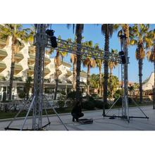 led screen tower aluminum truss for LED panel LED hanging system