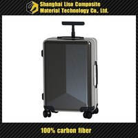 carbon fiber custom design carry on suitcase carbon fiber trolley bags