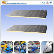 high quality PU sandwich Roof/Wall panels Factory Price