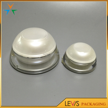 Wide mouth plastic cosmetic cream jar selling