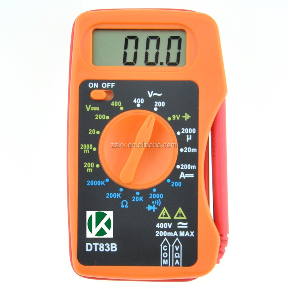 KASUNTEST Mini Thin Digital Multimeter DT83B