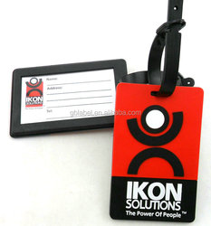 custom Promotional cheap printing luggage tag