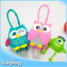 wholesale Cute BBW Cartoon silicone hand sanitizer holders