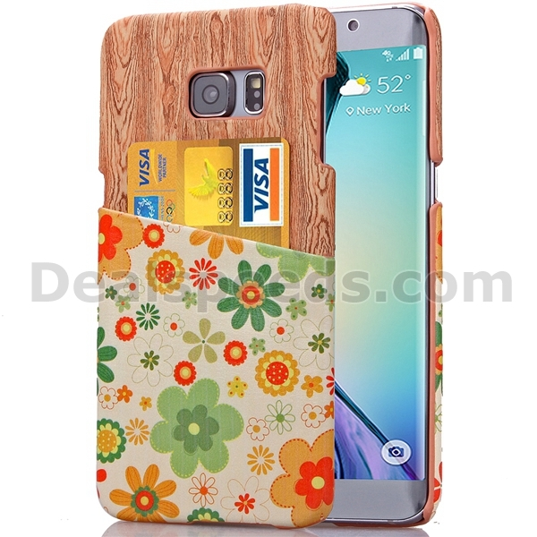 Hard Case for Samsung Galaxy S6 Edge G925, For Samsung Galaxy S6 Edge Case, Stand Wallet Case for Samsung Galaxy S6 Edge