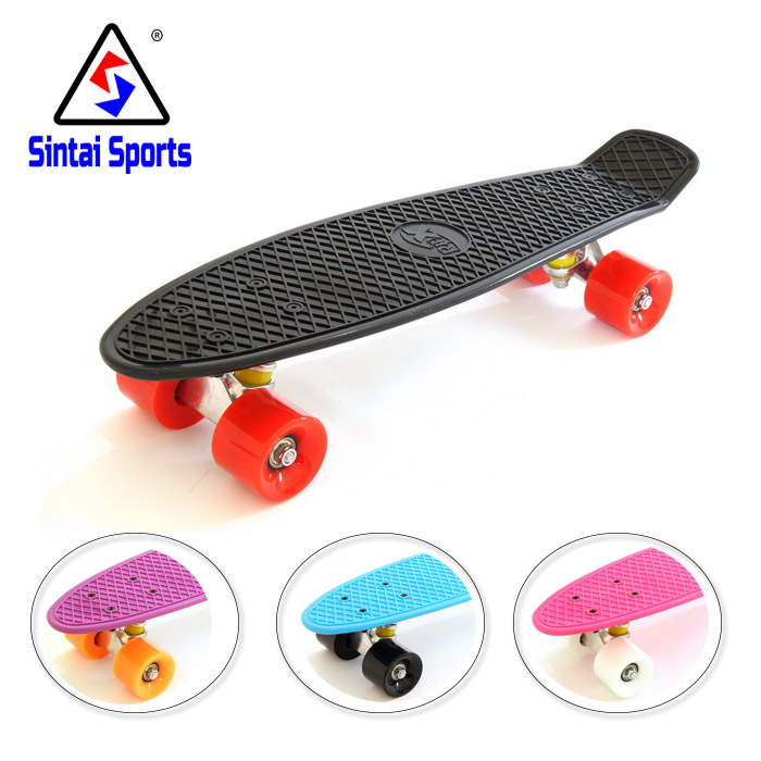 Mini Skateboard Complete 22 Inches Skate Four-wheel Street Long Board