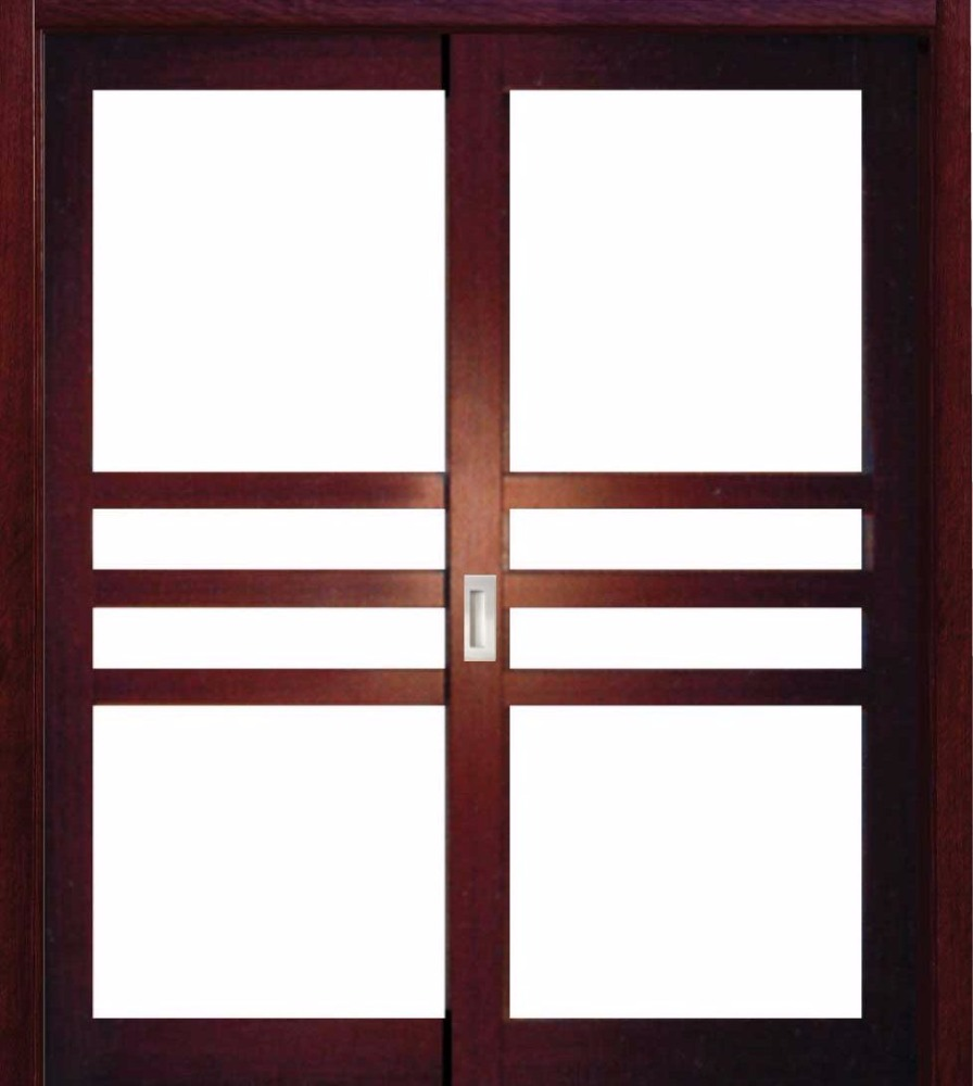 Glass office entry doors