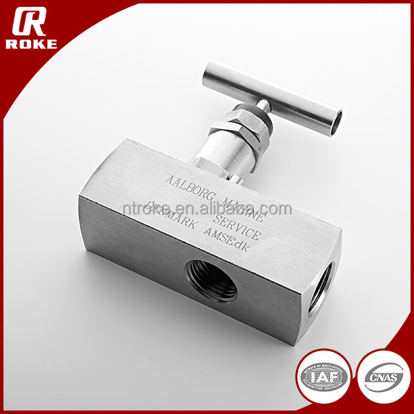 3000PSI Stainless Steel Female Threaded Hydraulic Flow Control Needle Valve