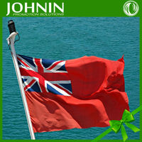 flag manufacturer directly sales outdoor use cheap price ship use british red ensign flag