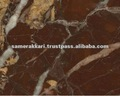 Polished Dark Red Rosso Elegante Calcite Marble