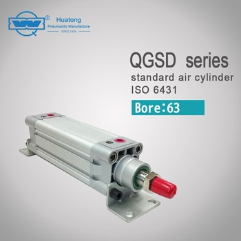 QGSD 63 series stable performance high dirt tolerance customized cylinder