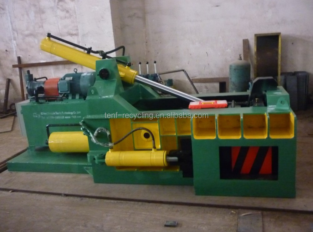 Y81T-1250 Customized Hydraulic Scrap Metal Press Baler PLC Control