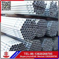 Prime galvanized steel water pipe sizes in China