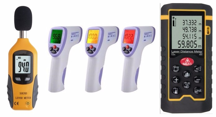 Hospital Clinic Infrared Thermometer LCD Display IR Forehead Thermometer