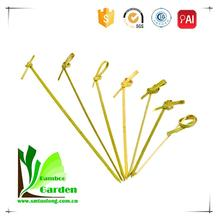 Top Quality Heart Shape Looped Bamboo Skewer