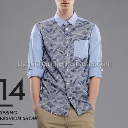 2014 new design slim fit long sleeve shirts that look like tatoos