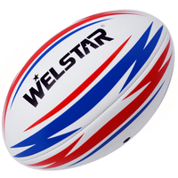 Machine Stitched Offical Size Rugby PVC Rugby Ball