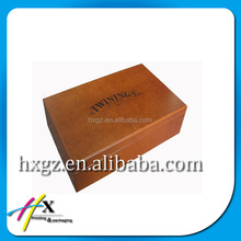 newly item storage Box wooden box with printing logo antique style