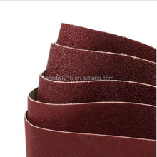 sanding belts for wide belt sander / 80 Grit Aluminum Oxide Sanding Belt / Sanding Belts