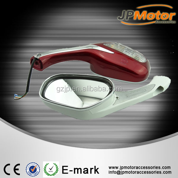 Motorcycle Side Mirror rearview mirror with LED Moto Spare Parts From China