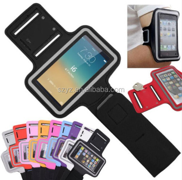 For iPhone 6 top quality waterproof running armband case, cell phone armband for iPhone 6 Plus