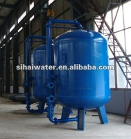 1800*2400 Filter tank filled with activated carbon , quartz sand, pretreatment filter