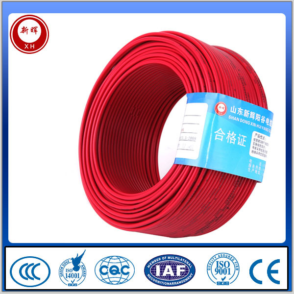 supply good quality for Electrical house wiring with PVC insulate