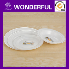Cheap disposable plastic charger plates for wedding