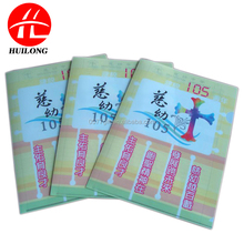 A4 size classified file folder stationery PP Plastic L shape folder with full color UV printing