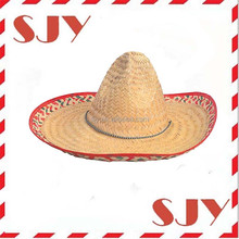 Cool fun Mexico Straw Sombreros hat Girl Summer Hats