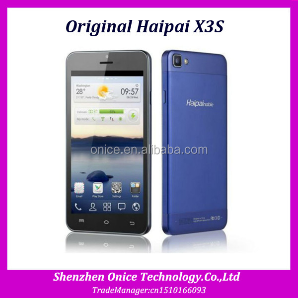 Original Haipai X3S MTK6592 Octa Core Cell Phone 5.0'' IPS 1280*720px 2GB RAM16GB ROM Android 4.2.2 Mobile Phone 5MP 8MP GPS OTG