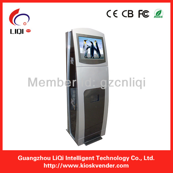 LCD Information Ticket Printing Kiosk/ Touch Screen Kiosk/Payment Kiosk