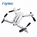 Flytec T13S 3D Portable Folding RC Drone Toys with Wifi FPV 720P Wide Angle HD Camera 2.4G Mini Pocket Drones Dron RTF ( White)