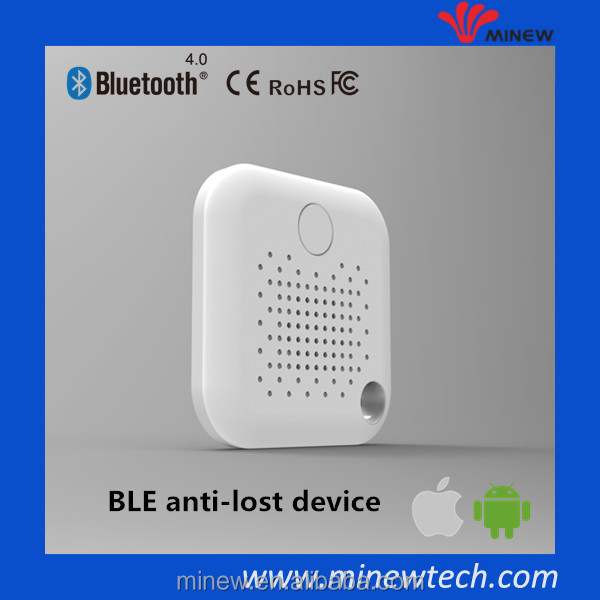 Anti lost BLE 4.0 smart alarm key finder bluetooth reminder pets bags, wallet and phones anti-lost