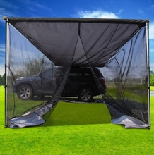 Retractable 4x4 Waterproof Roof Tent 4wd Car Side Rooftop Awning