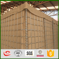 Hot dip galvanized mur hesco bastion for sale