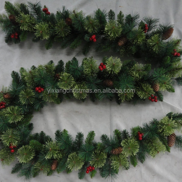 wholesale decorated pine needle artificial christmas garland - Christmas Garland Wholesale