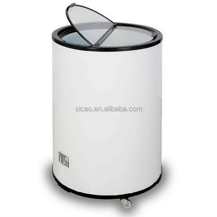 40 Liters Round Barrel Cooler Party Cooler Promotional Cooler with Wheels