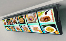 Supply Indoor Wall Hanging Restaurant LCD Digital Menu Board