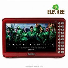 Bulit-in e-book function 10 inch portable TV with cheap price EL-181