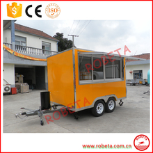 chocolate cart refrigerated food cart trailer