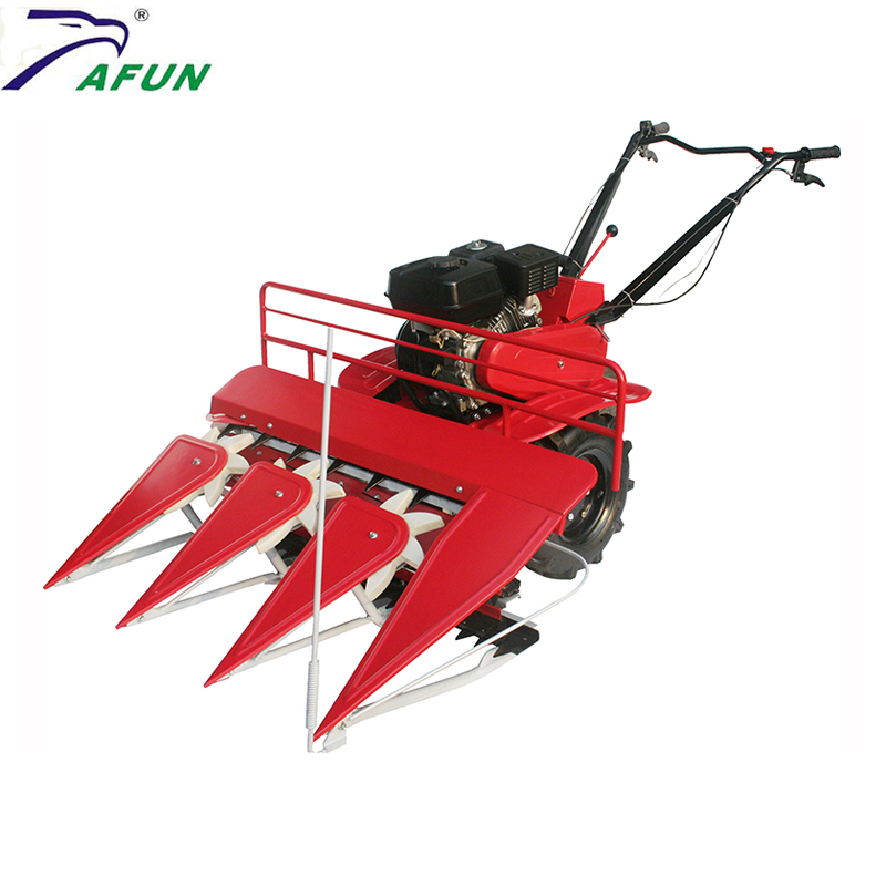 mini wheat weed rice harvesting plants cutting cultivator machine